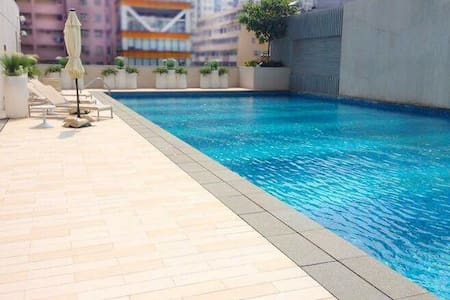 Max 6 ppl studio centrally located with gym & pool - Hong Kong - Lejlighed
