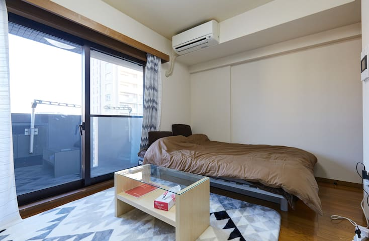 Up to 5 people, Functional Condo w/ Good Transport - Minato-ku - Selveierleilighet