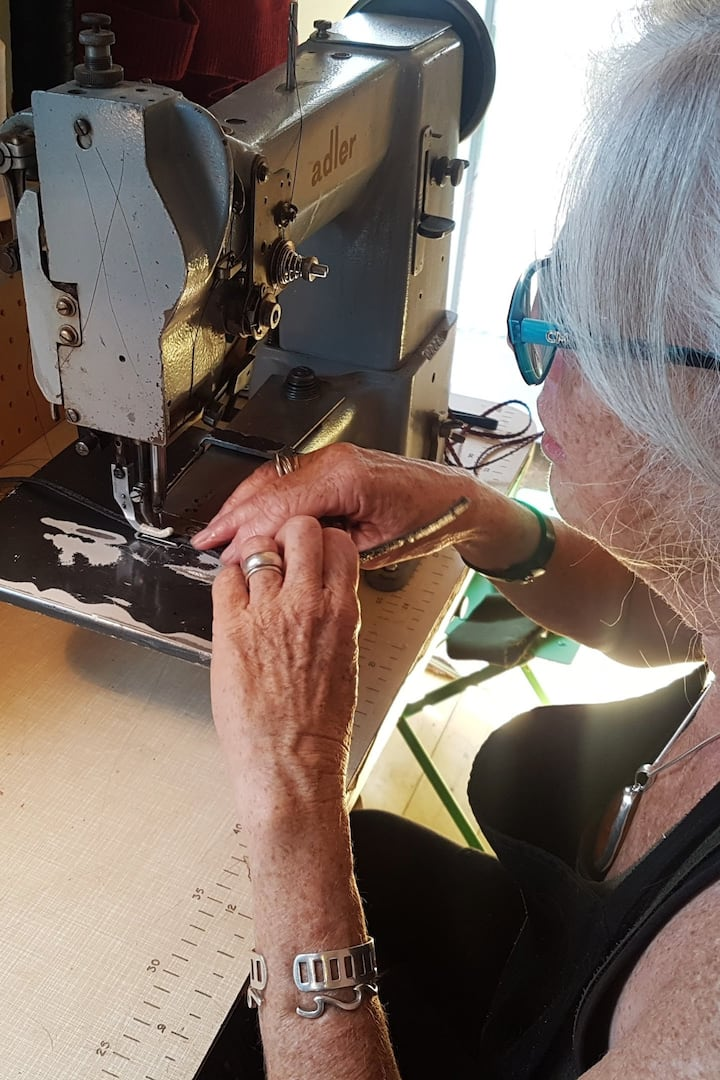 Have a go on industrial sewing machines