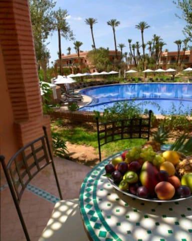 Amazing 2BD condo in Palmeraie 3 !! - Marrakech - Lägenhet