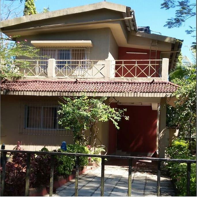 Aashirwad Bungalow In Lonavla Villas For Rent In Lonavala Maharashtra India