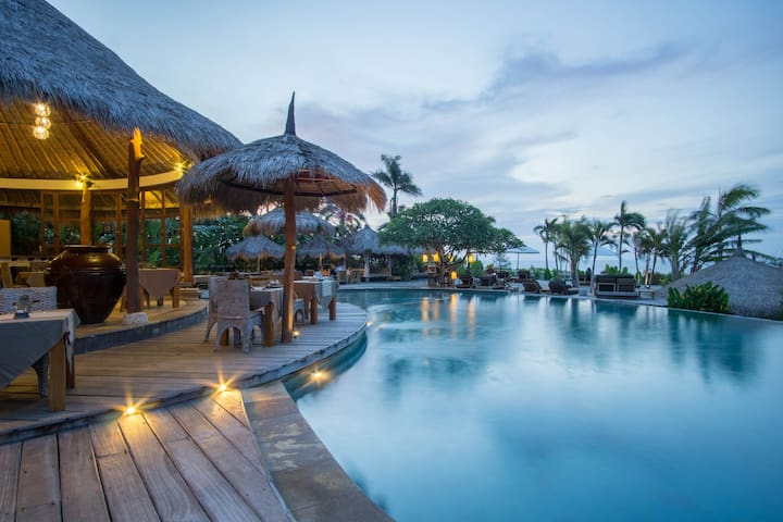 Tropical StoneCabin by Balangan Beachfront #6