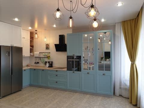 Cozy Studio in Tyumen City Center