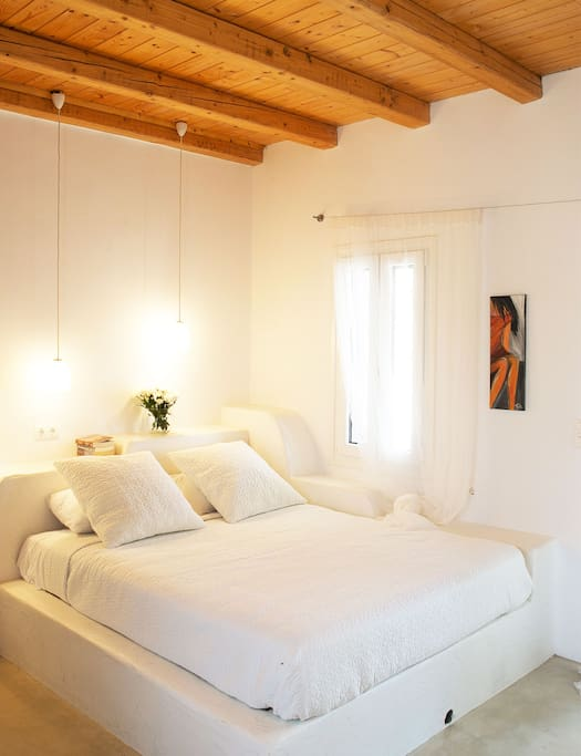 Bedroom | Athina Ios Villa | Luxury Villa in Ios Island
