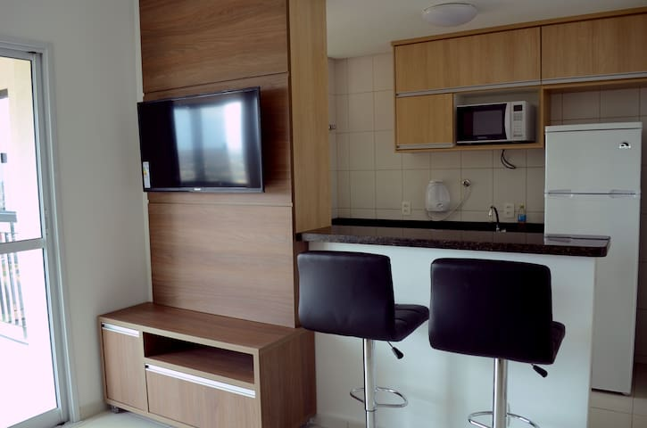 Nice apartment close to the subway - Brasília - Byt