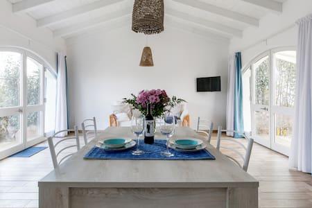 Residenza da Mario... Luminoso, creativo appartamento con giardino