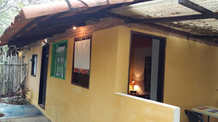 Chalé  Sucupira na RPPN Caraívas