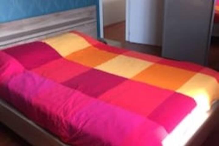 Bedroom in a lovely villa