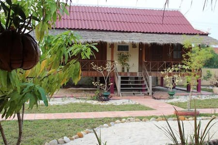 Deluxe House Family - Krong Kampot - 獨棟