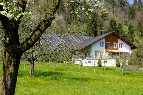 2-Zimmerwohnung auf Bio-Bauernhof