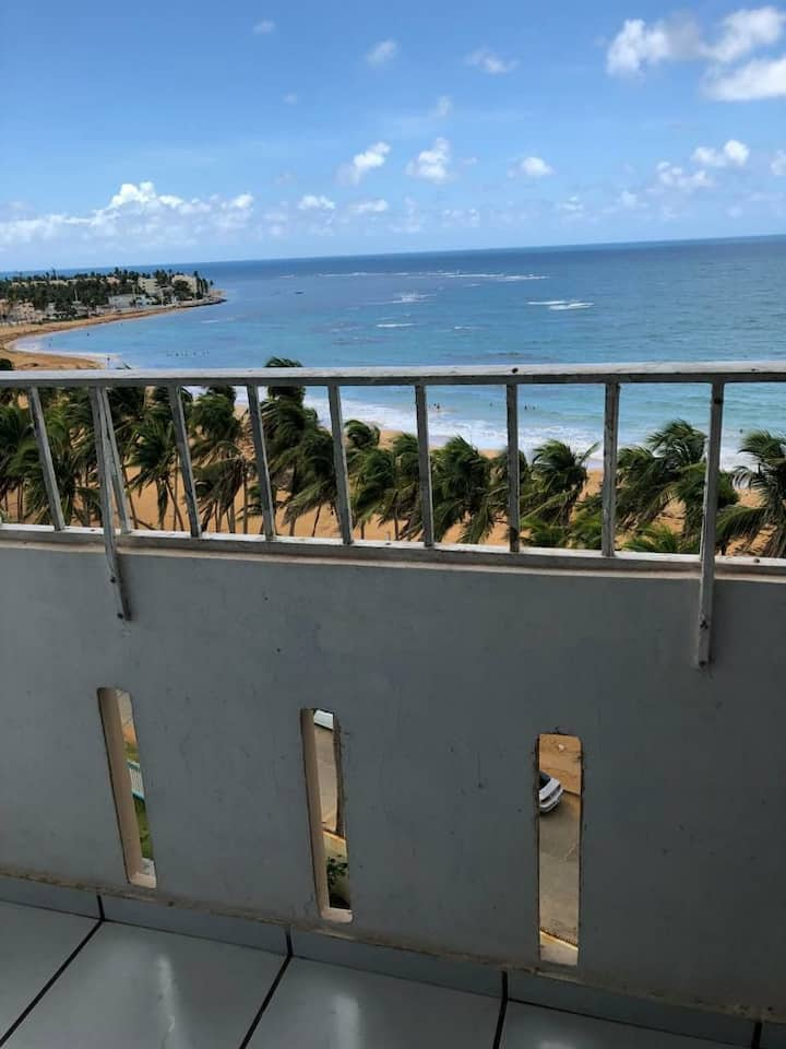 Beach Front Condo with Excellent & Relaxing view