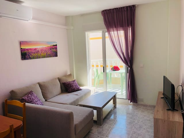 Apartment near the coves with swimming pool