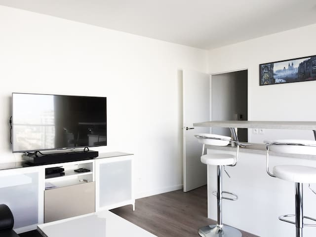 Large 1 bedroom view over Paris standing Residence - Ivry-sur-Seine