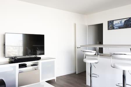 Large 1 bedroom view over Paris standing Residence - Ivry-sur-Seine - Apartamento