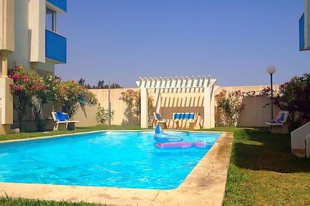 Bel Apartment vue sur mer - Hammamet Sud - Selveierleilighet