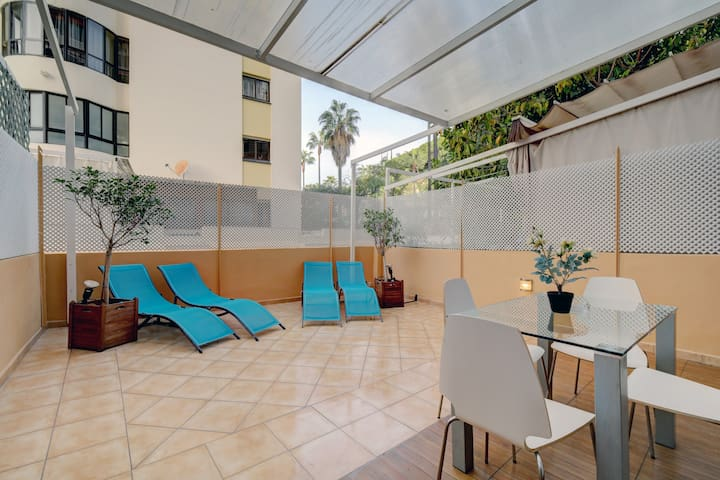 Stunning Contemporary 2 bed apt central Marbella