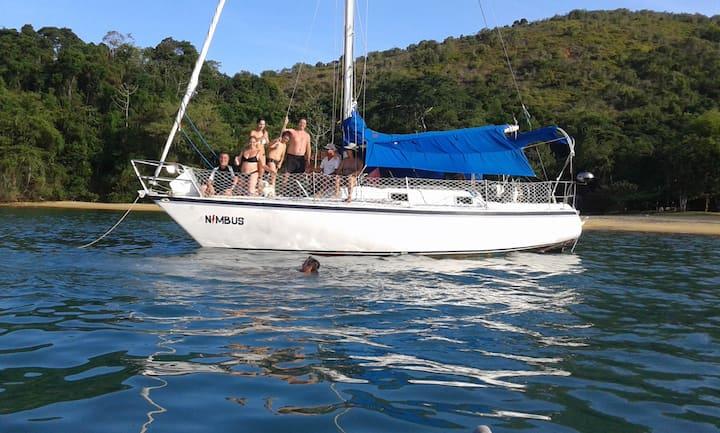 Veleiro Nimbus - Charter/Passeios - até 07 pessoas