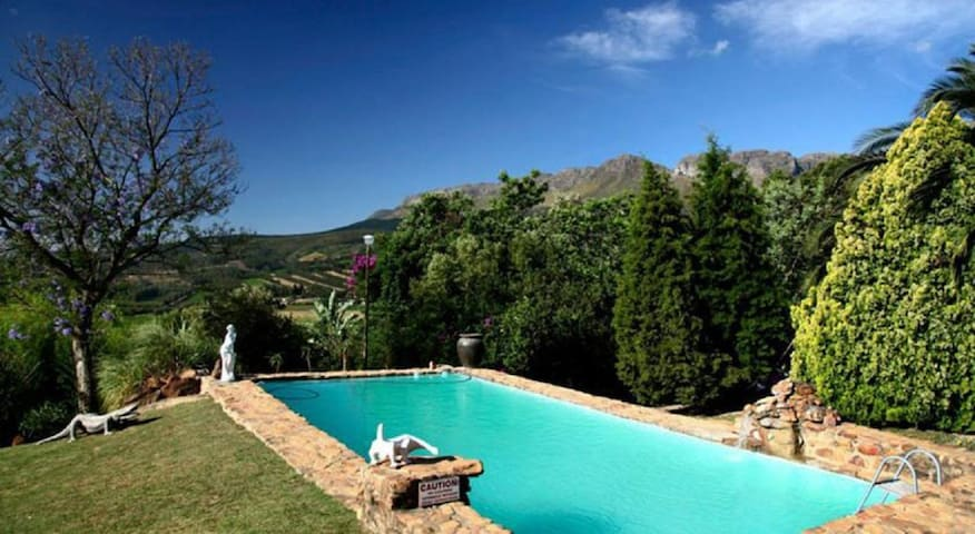 Poolside apartment - Paarl - Apartment