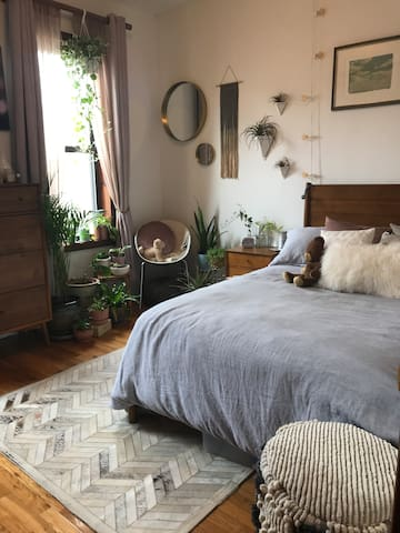 Relaxing and Tranquil Room in Park Slope