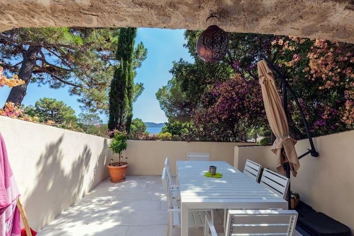 Villa - Porto Vecchio - Cala Rossa -private beach
