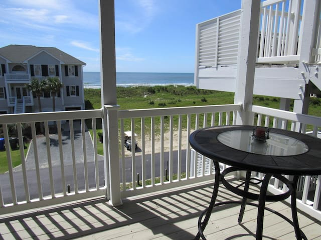 """BEACH HAVEN""  ocean view-pool club-directly across  beach access"