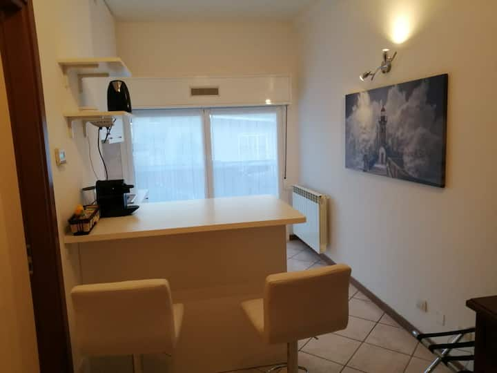 studio apart. kitchenette parking near Fiera Mil