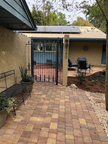 Door to courtyard
