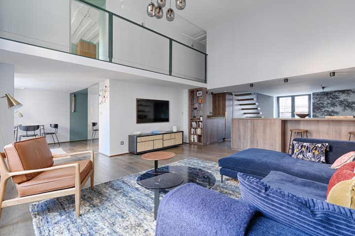 Incredible Luxurious Duplex 100m² 2BR/4P - LOUVRE