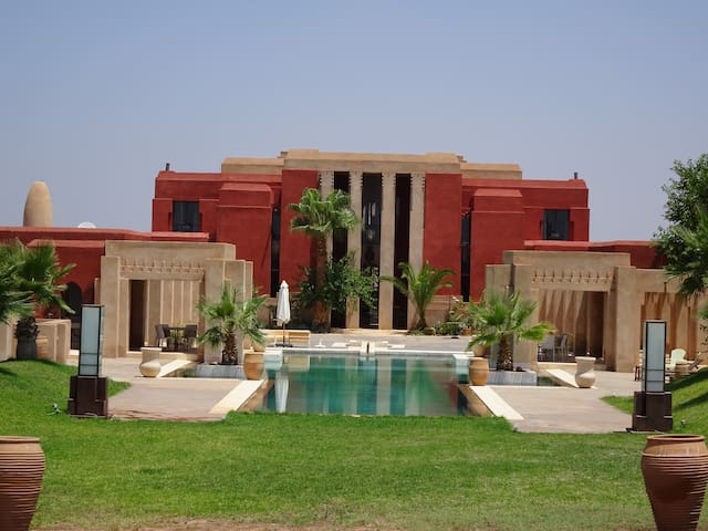 "Villa ""DAR GIULIA"" (6rooms-14pers) Exclusive. - Marrakesh - Huis"