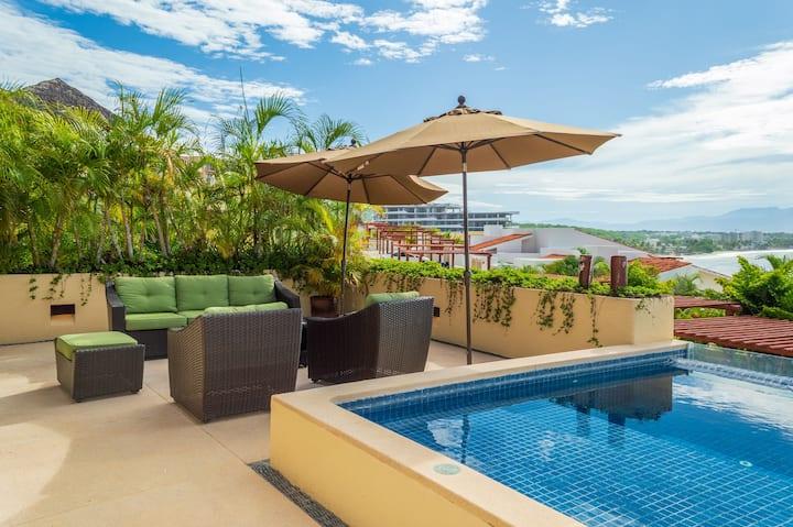 Villa Mango - Beach Front 4 Bedroom