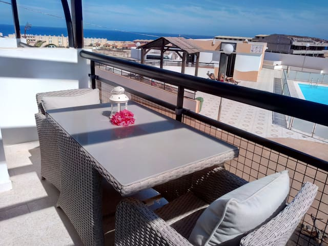 "Apartment ""RELOAD"" with Ocean views-Fuerteventura"