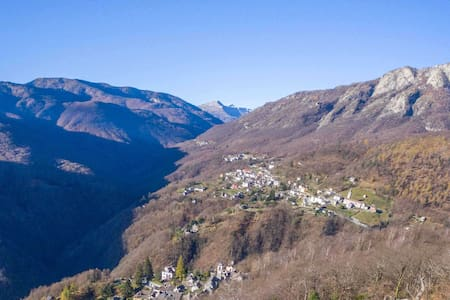 Casa Lucertola - Auressio, Valle Onsernone
