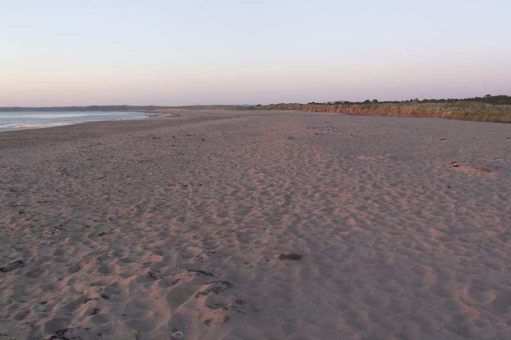 The beach at Derrymore