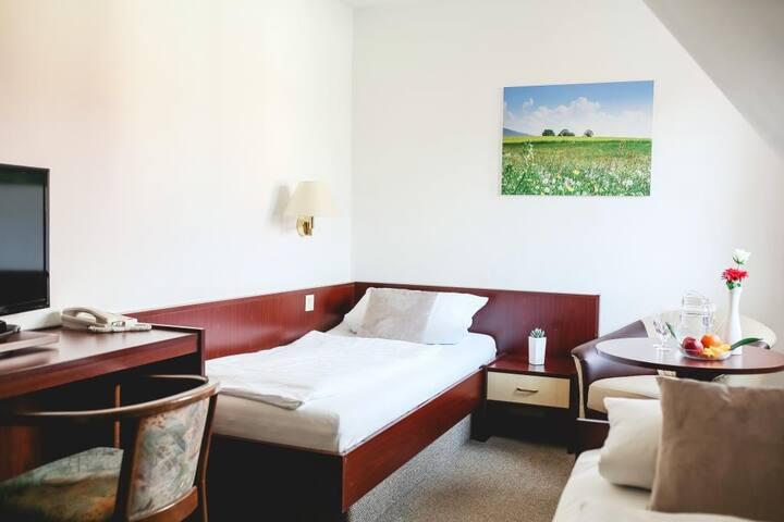 """Hotel & Restaurant """" Am Jüdenhof"""" bei Mühlhausen (Heilbad Heiligenstadt) - LOH05577, Einzelzimmer"""