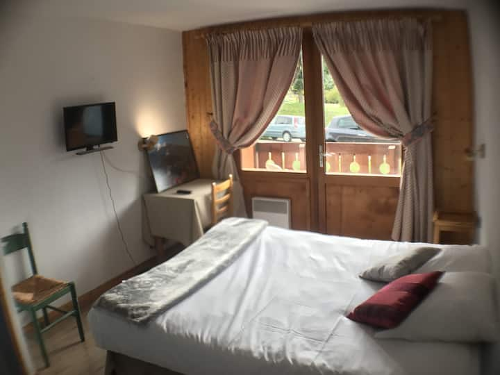 Double room with queenbed