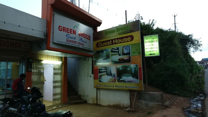 Green Breeze Guest House - Nilgiris