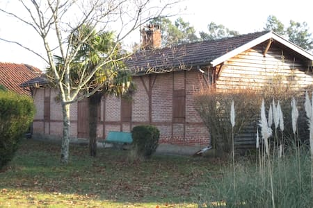 Maison landaise , pleine campagne - Ev