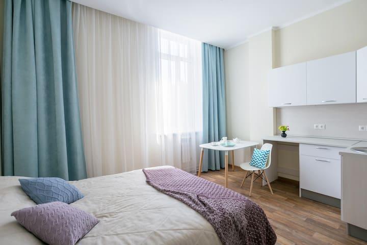 Апартаменты Бизнес в центре Красноярска.