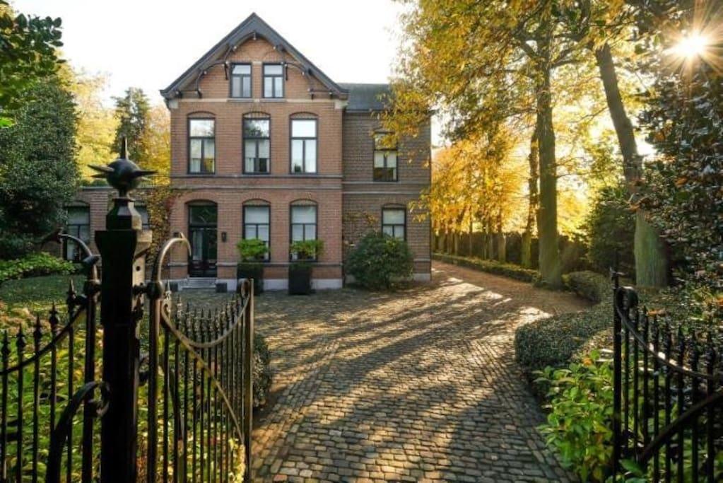Villa neeckx master suite met terras bed breakfasts te huur in lommel vlaanderen belgi - Het creeren van een master suite ...