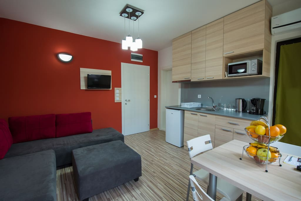 Apartment A1 with kitchenette