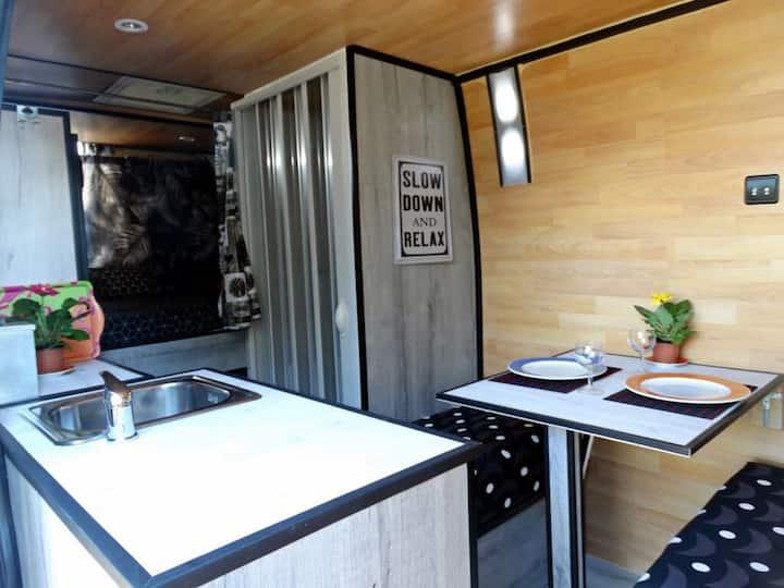 Camper furgón en Menorca