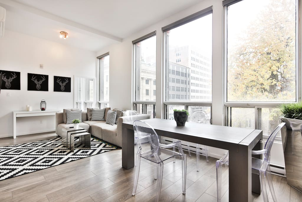 2 Bedroom Apartment On Sainte Catherine Street Apartments For Rent In Montr Qu Canada