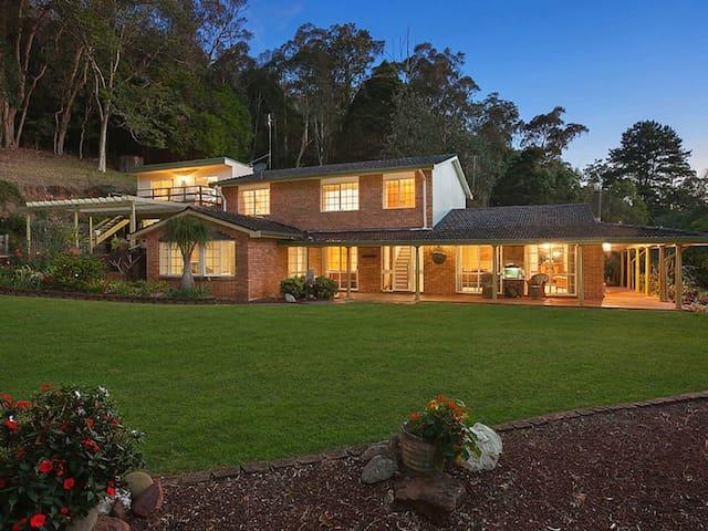 ZEN  Garden - 8 Acre House - Fountaindale - Casa