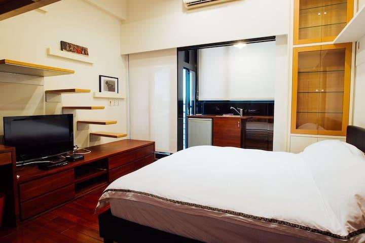 Near Taipei 101/2-4p Luxury Studio