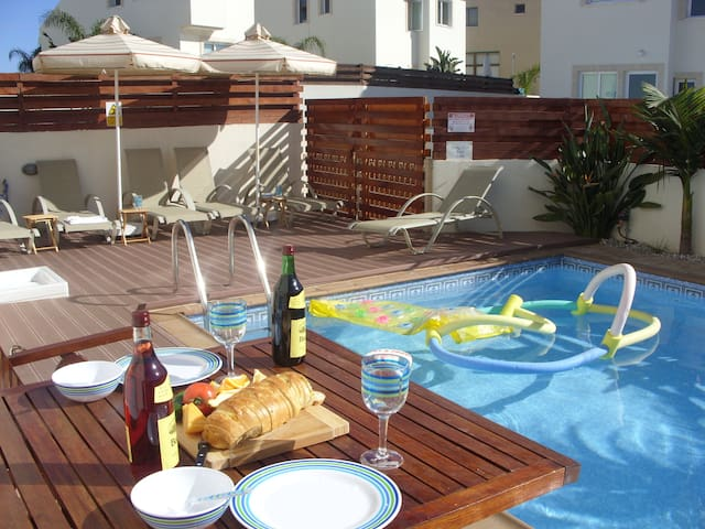 MANDARIN VILLA,  POOL, SEA VIEW - PERNERA - Villa