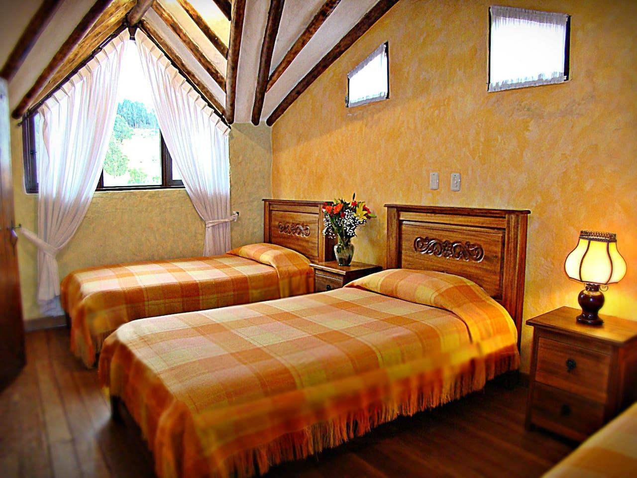 Villa Salom Apartamento Tur Stico Con Balc N Condom Nios Para  # Muebles Rusticos Duitama Boyaca