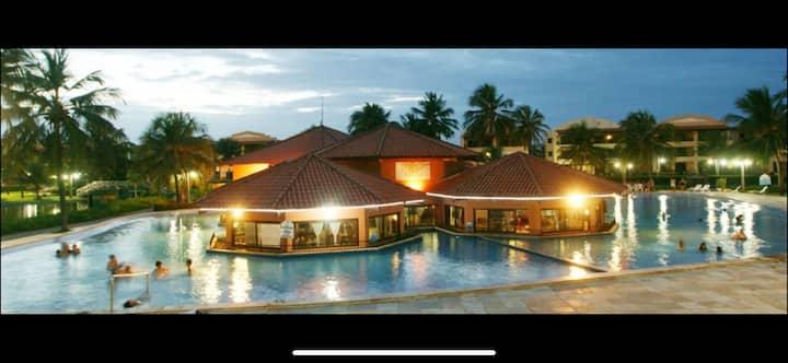 Aquaville Resort - vizinho ao beach park .