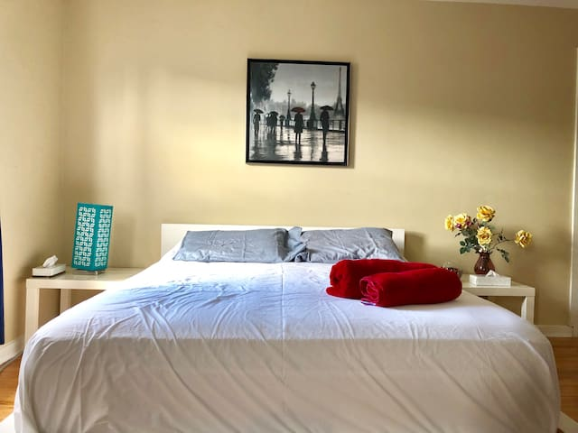 Budget stay Near downtown and Metro