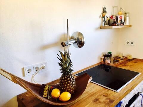Centraal studio appartement Warburg/Kernstadt +Garten