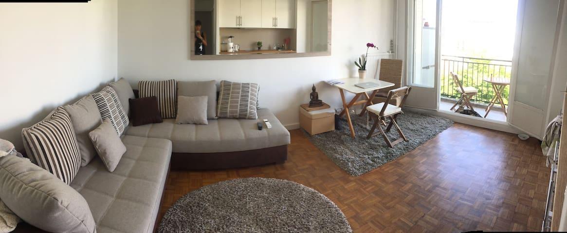 Appartement refait à neuf à 2 pas de Paris